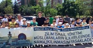 İsrail Ataşehir'de protesto edildi