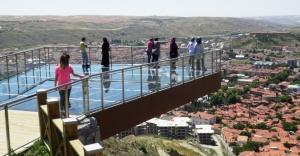 Türkiye'nin En Büyük Cam Seyir Terası Çankırı'da