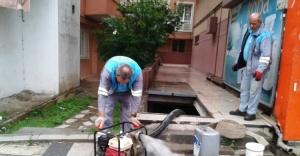 Ümraniye Belediyesi Yağış Sonrası Seferber Oldu