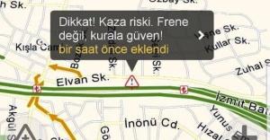 İçişleri Bakanlığı sürücüleri Yandex üzerinden uyarıyor