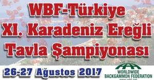 Karadeniz Ereğli Tavla Şampiyonası için kayıtlar açılmıştır.