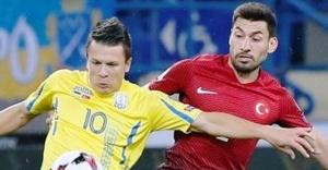 A Milli Futbol Takımı Ukrayna'ya 2-0 yenildi.