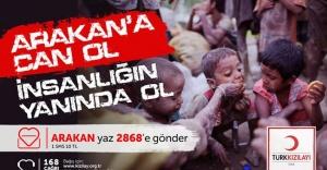 Kızılay, Arakan için yardım kampanyası başlattı