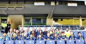 Fenerbahçe, Çorumlu öğrencileri İstanbul'da ağırladı