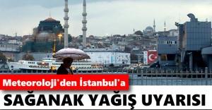 İstanbul için kuvvetli yağış ve rüzgar uyarısı