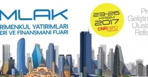 CNR Emlak Fuarı inşaatın zirvesini buluşturuyor