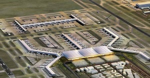 İstanbul Havalimanının Yüzde 73'ü tamamlandı