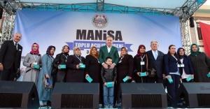 SOMA'DA MADENCİLERİN AİLELERİNE YENİ BİR MAHALLE