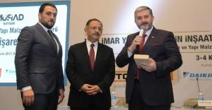 Yeni İmar Yönetmeliği MÜSİAD Kayseri'de Konuşuldu