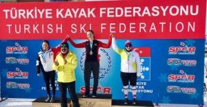 AKUT Kar Sporları Branşından altın ve gümüş madalya