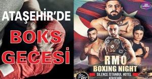 Ataşehir'de boks gecesi