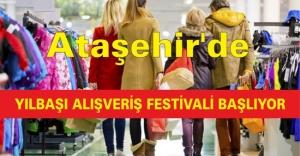 Ataşehir'de Yılbaşı alışveriş festivali başlıyor