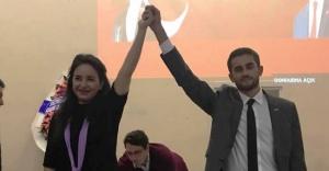 CHP Ataşehir'in Yeni Gençlik Kolu Başkanı Ezgi Özçelik Kuzucu