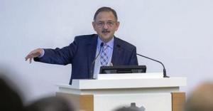 Bakanı Özhaseki'den kentsel dönüşüm açıklaması
