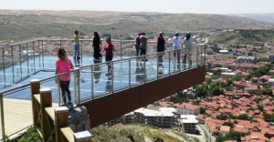 Çankırı'da Cam Seyir Terası'nı 7 Ayda 35 Bin Kişi Ziyaret Etti