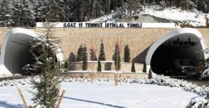 Ilgaz Tüneli'ni 1,2 milyon araç kullandı
