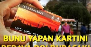 Metal ve Plastik Atıklar İstanbulkarta Kredi Olacak