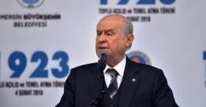 MHP Lideri Bahçeli: ''Sefer bizim zafer Allah'ındır,