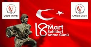 18 Mart Şehitleri Anma Günü ve Çanakkale Zaferi Kutlu Olsun