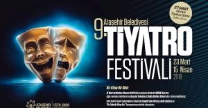 Ataşehir 9. Tiyatro Festivali başlıyor.
