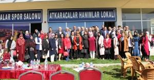 Atkaracalar'da Hanımlar Lokali Açıldı