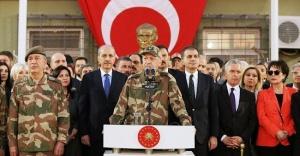 Erdoğan, sınır birliklerine askeri kamuflajla seslendi