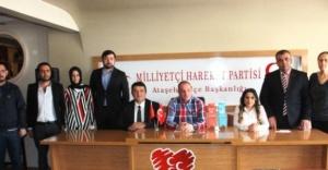 MHP Ataşehir, Yerel Basınla Buluştu