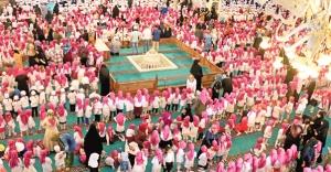 Ataşehir'de 3 bin 500 çocuk namazda buluştu