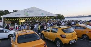 Taksiciler İftarda Buluştu