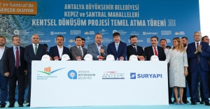 Türkiye'nin en büyük kentsel dönüşüm projesinin temeli atıldı