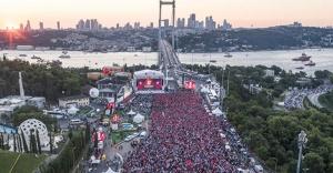 15 Temmuz Şehitler Köprüsü'nde tarihi anlar