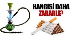 Nargile, sigara kadar zararlı