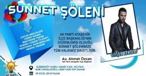 AK Parti Ataşehir Sünnet Şöleni Düzenliyor