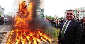 ''Kırklareli'nde Kakava ateşi kadınlar için yanacak''