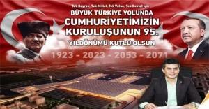 Av. Ahmet Özcan'ın 29 Ekim Cumhuriyet Bayramı mesajı
