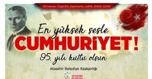 Cumhuriyet Bayramı Ataşehir'de coşkuyla kutlanacak