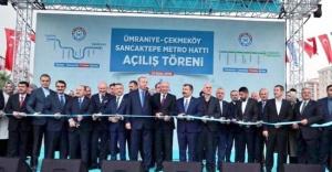 Üsküdar-Çekmeköy metro hattının ikinci etabı açıldı