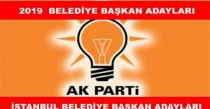 AK Parti'nin Muhtemel İstanbul ilçe belediye başkan adayları