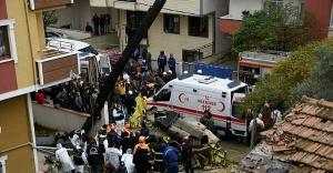 Askeri helikopter düştü: 4 asker şehit oldu.