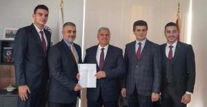 Mehmet Yılmaz Belediye Başkanlığı aday adaylık başvurusunu yaptı