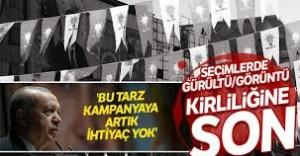 AK Parti'den çevreci seçim kampanyası
