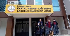 Zilsiz okul öğrencileri rahatlattı