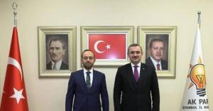 Mehmed Emin Özkaya Ak Parti Ataşehir ilçe Başkanı oldu