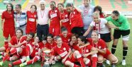 Ataşehir Belediyespor, Kadınlar 1.Futbol Ligi'nde şampiyon