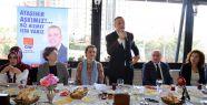 Battal İlgezdi, Okul Aile Birliği Üyeleri ile kahvaltıda buluştu