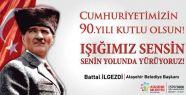 Battal İlgezdi'nin Cumhuriyet Bayramı mesajı
