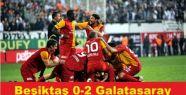 Beşiktaş 0-2 Galatasaray