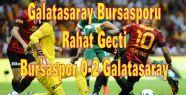 Bursaspor 0-2 Galatasaray