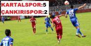Çankırıspor 2. Ligdeki Son Maçında Kartalspor'a 5 – 2 yenildi