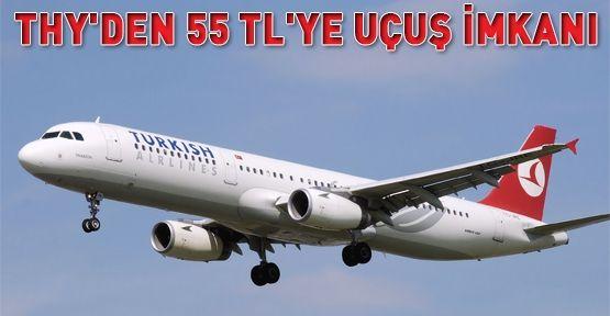 THY'den 55 TL'ye uçuş imkanı